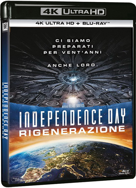 Independence Day - Resurgence (2016) UHD 4K 2160p Video Untouched ITA DTS AC3 ENG TrueHD AC3