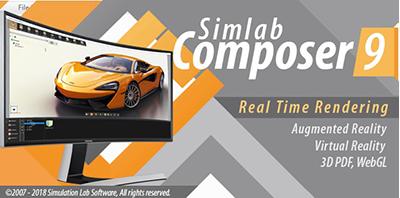 SimLab Composer v9.0.6 64 Bit - Eng