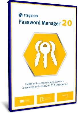 Steganos Password Manager 20.0.13 Revision 12601 - ENG