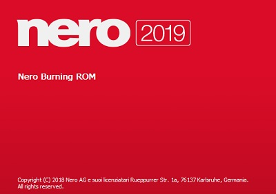 Nero Burning ROM 2019 v20.0.00400 - ITA